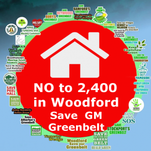 Say No to 2400 houses in Woodford